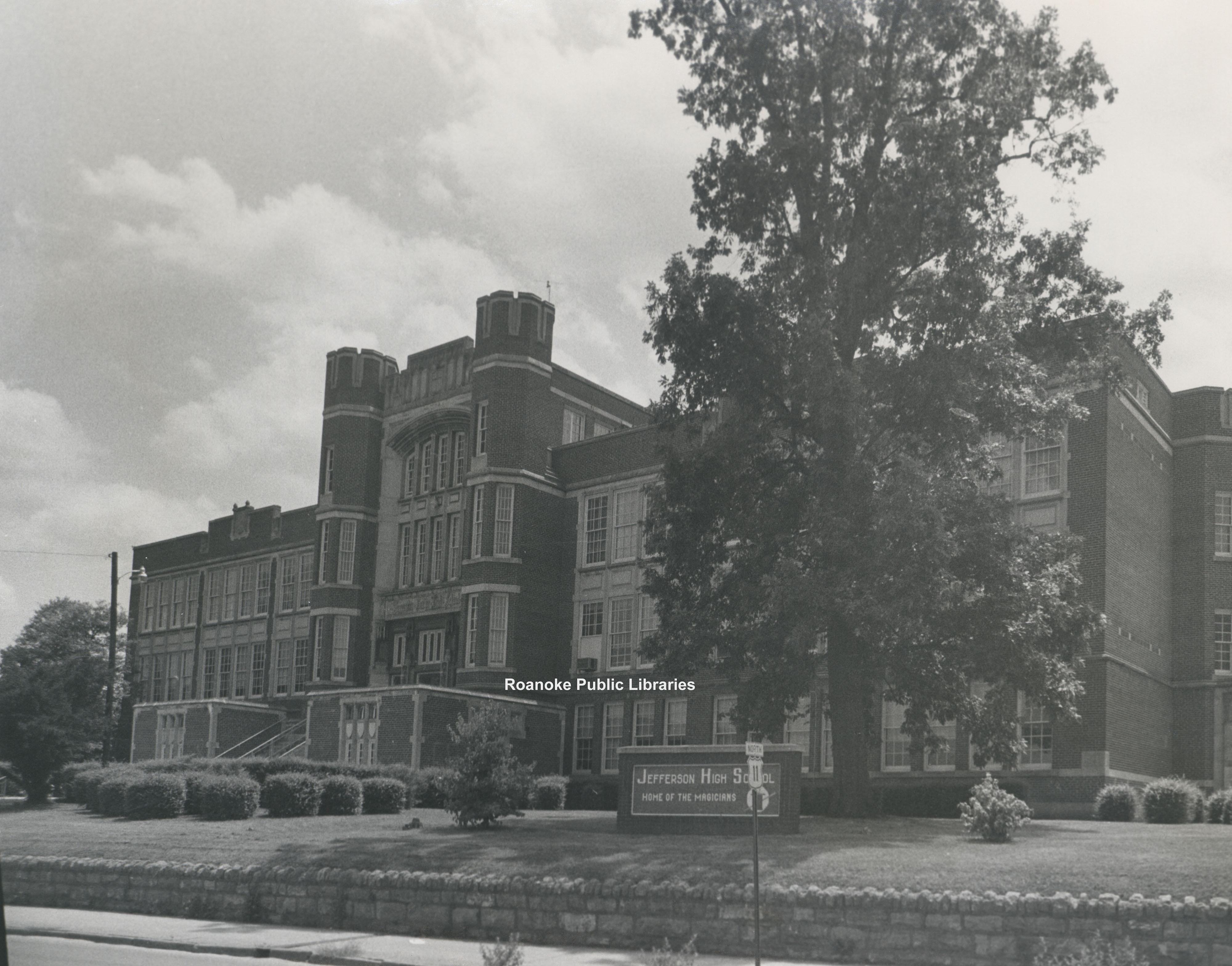 Davis 11.65 Jefferson High School · Virginia Room Digital