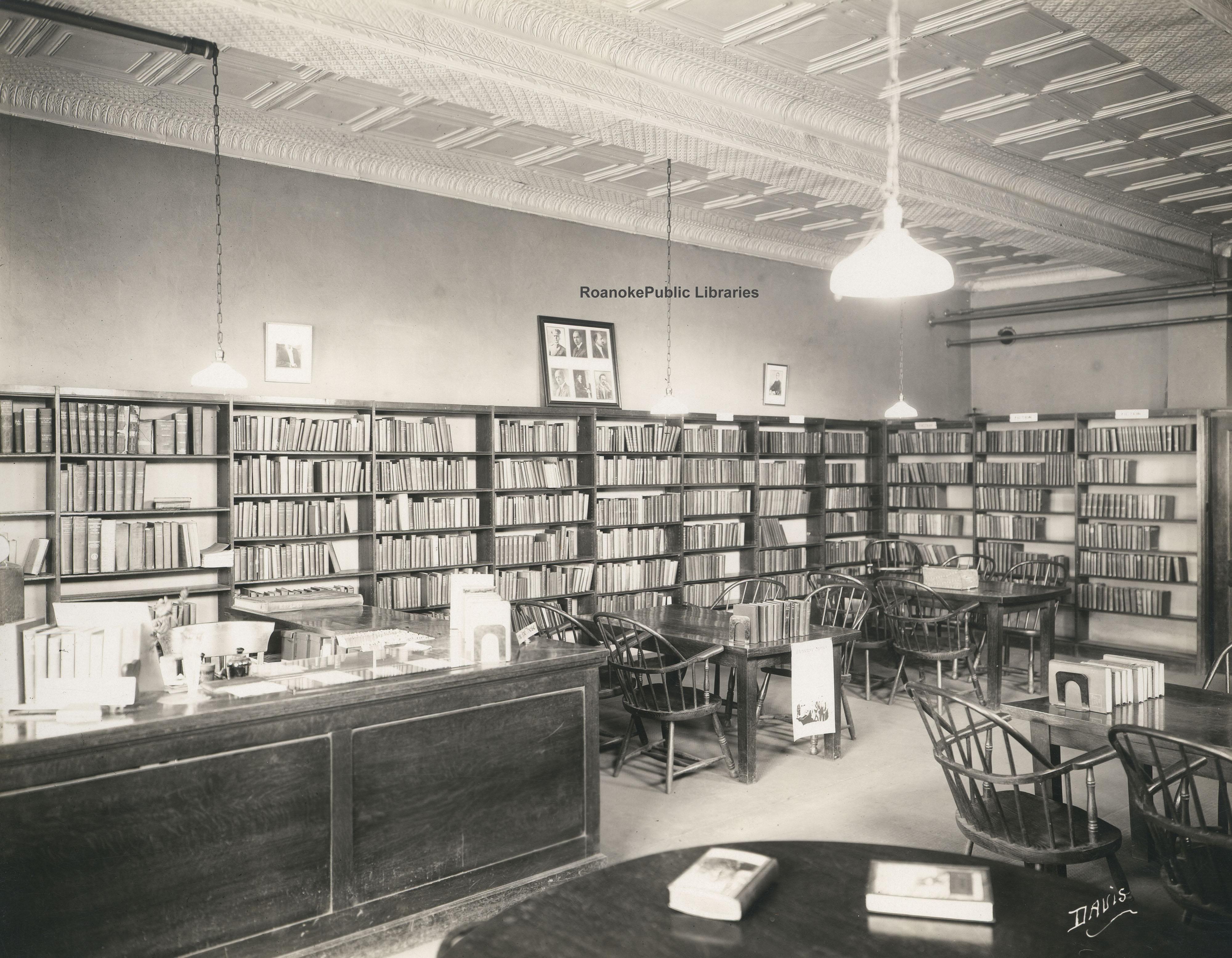 Davis 15 61 Gainsboro Library Interior 183 Virginia Room