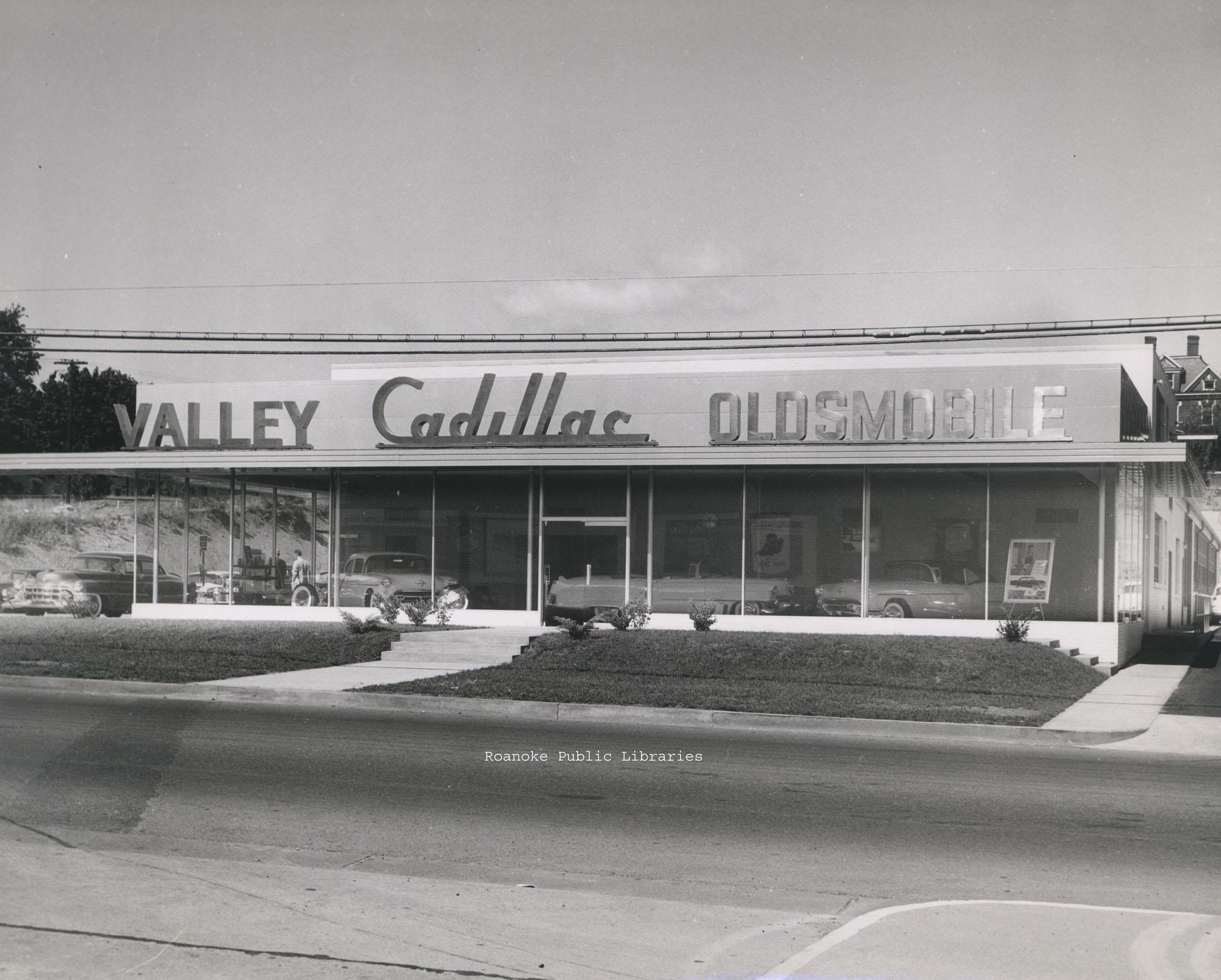 Davis 46.24b Valley Cadillac · Virginia Room Digital Collection