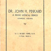 Dr. John Pinkard: A Negro Medical Genius