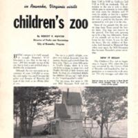 It Seems As If Everyone in Roanoke, Virginia Visits Children's Zoo
