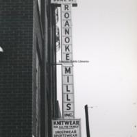 MP 9.0 Roanoke Mills Sign