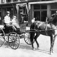 RNRV38 Horse and Buggy