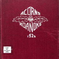 Acorns of Roanoke 1920