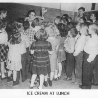 BM 124 Ice Cream at Lunch