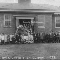 BM 179 Back Creek School