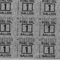 BM 228 Ration Stamps