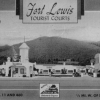 SR011 Fort Lewis Tourist Court