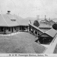 SR110 N&W Passenger Station