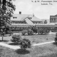SR112 N&W Passenger Station