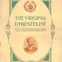 The Virginia Philatelist, Volume 1, Issue 1