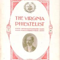 The Virginia Philatelist, Volume 1, Issue 9
