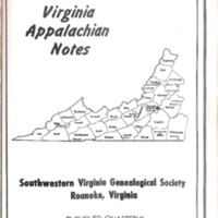 Virginia Appalachian Notes, Volume 2, Number 4