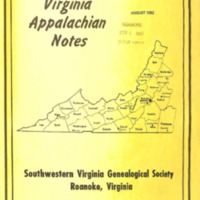 Virginia Appalachian Notes, Volume 6, Number 3