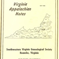 Virginia Appalachian Notes, Volume 7, Number 2