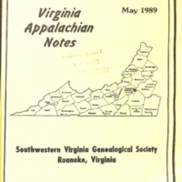 Virginia Appalachian Notes, Volume 13, Number 2