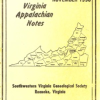 Virginia Appalachian Notes, Volume 14, Number 4