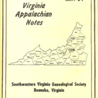 Virginia Appalachian Notes, Volume 15, Number 2