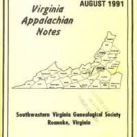 Virginia Appalachian Notes, Volume 15, Number 3