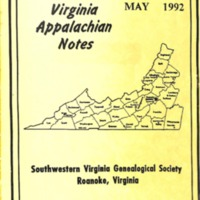 Virginia Appalachian Notes, Volume 16, Number 2