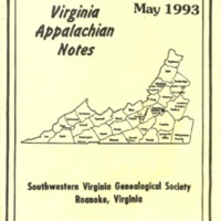 Virginia Appalachian Notes, Volume 17, Number 2