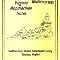 Virginia Appalachian Notes, Volume 17, Number 4
