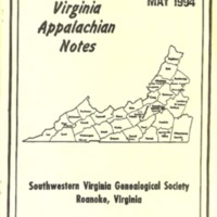 Virginia Appalachian Notes, Volume 18, Number 2