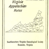 Virginia Appalachian Notes, Volume 18, Number 4