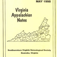 Virginia Appalachian Notes, Volume 19, Number 2