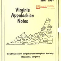 Virginia Appalachian Notes, Volume 21, Number 2