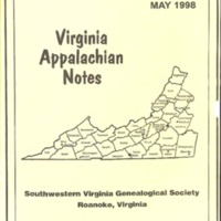 Virginia Appalachian Notes, Volume 22, Number 2