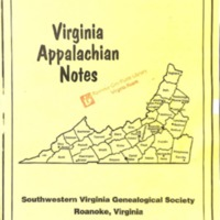 Virginia Appalachian Notes, Volume 23, Number 4