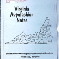 Virginia Appalachian Notes, Volume 25, Number 2