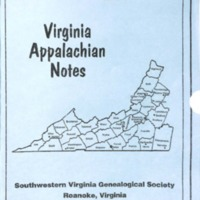 Virginia Appalachian Notes, Volume 26, Number 2