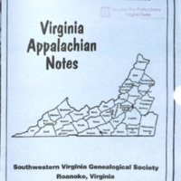 Virginia Appalachian Notes, Volume 26, Number 4