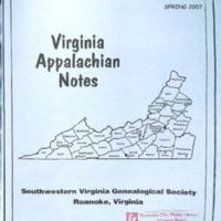 Virginia Appalachian Notes, Volume 31, Number 2