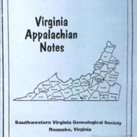 Virginia Appalachian Notes, Volume 31, Number 4