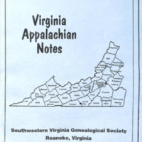 Virginia Appalachian Notes, Volume 32, Number 1