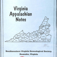 Virginia Appalachian Notes, Volume 32, Number 2
