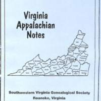 Virginia Appalachian Notes, Volume 32, Number 3