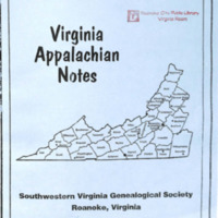 Virginia Appalachian Notes, Volume 32, Number 4
