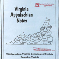 Virginia Appalachian Notes, Volume 33, Number 2