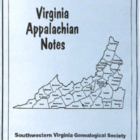Virginia Appalachian Notes, Volume 33, Number 4