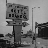 Davis 16.210 Hotel Roanoke Sign