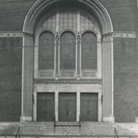 Davis 21.215 First Baptist Church Doors