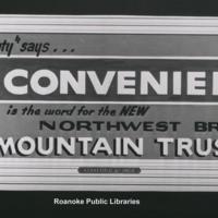 Davis 43.3211 Mountain Trust Bank Billboard