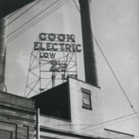 Davis 45.53 Cook Electric Sign