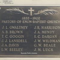 Davis2 21.61 Pastors of Enon Baptist