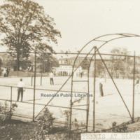 Davis GL 34 Tennis Courts at Elmwood
