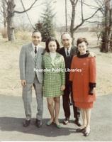 GB039 John Claytor III, Sandra Clytor, John B. Claytor Jr. and Ruth Claytor, Easter 1969.jpg